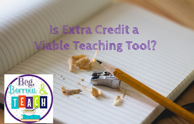 Is Extra Credit a Viable Teaching Tool?