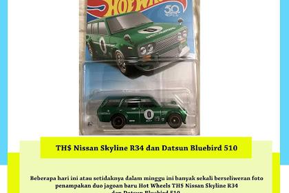 Trend of The Week : TH$ Nissan Skyline R34 dan Datsun Bluebird 510