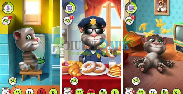 Download Game Android My Talking Tom Apk Mod v4.2.1.50 Terbaru