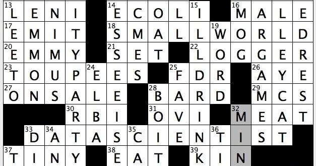 Rex Parker Does The Nyt Crossword Puzzle Seducer Of Josef In Kafka 39 S Trial Fri 2 10 17
