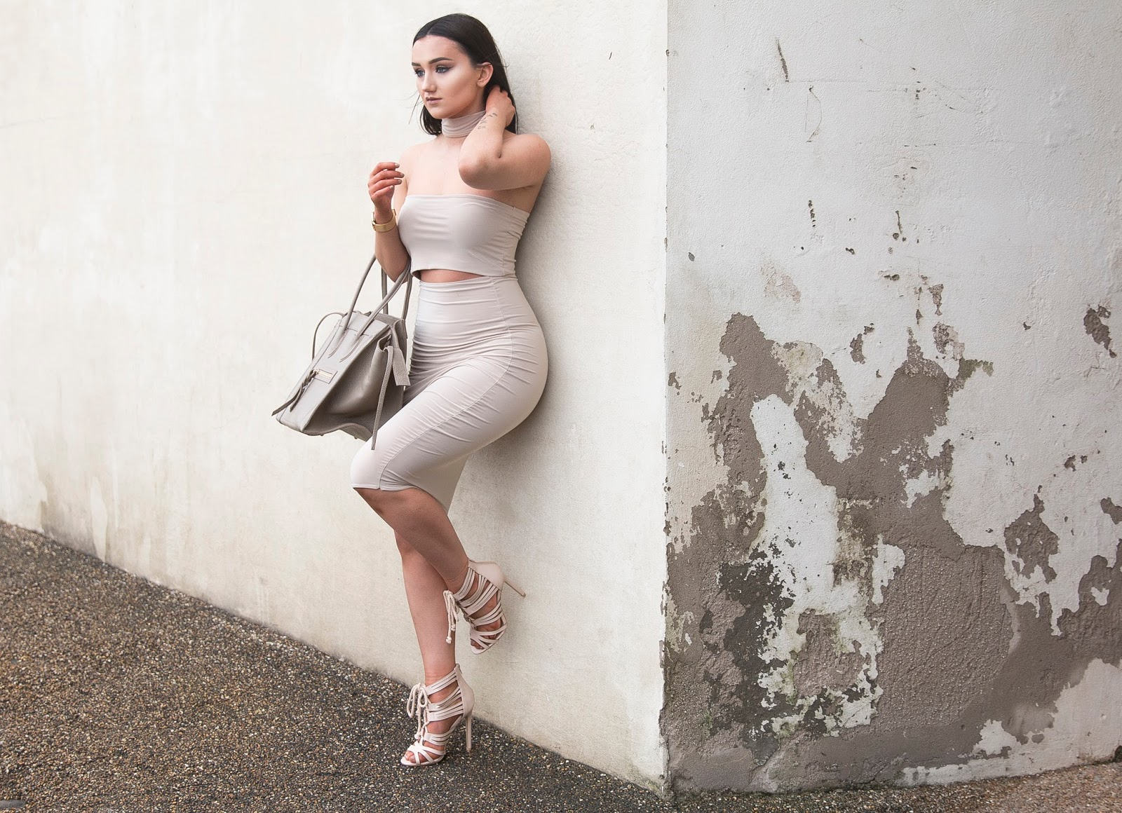 Nude Intrusion | Daily Outfit by Kayley Anne Jones