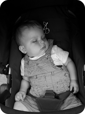 sleeping baby, ten month old baby, 12kg baby