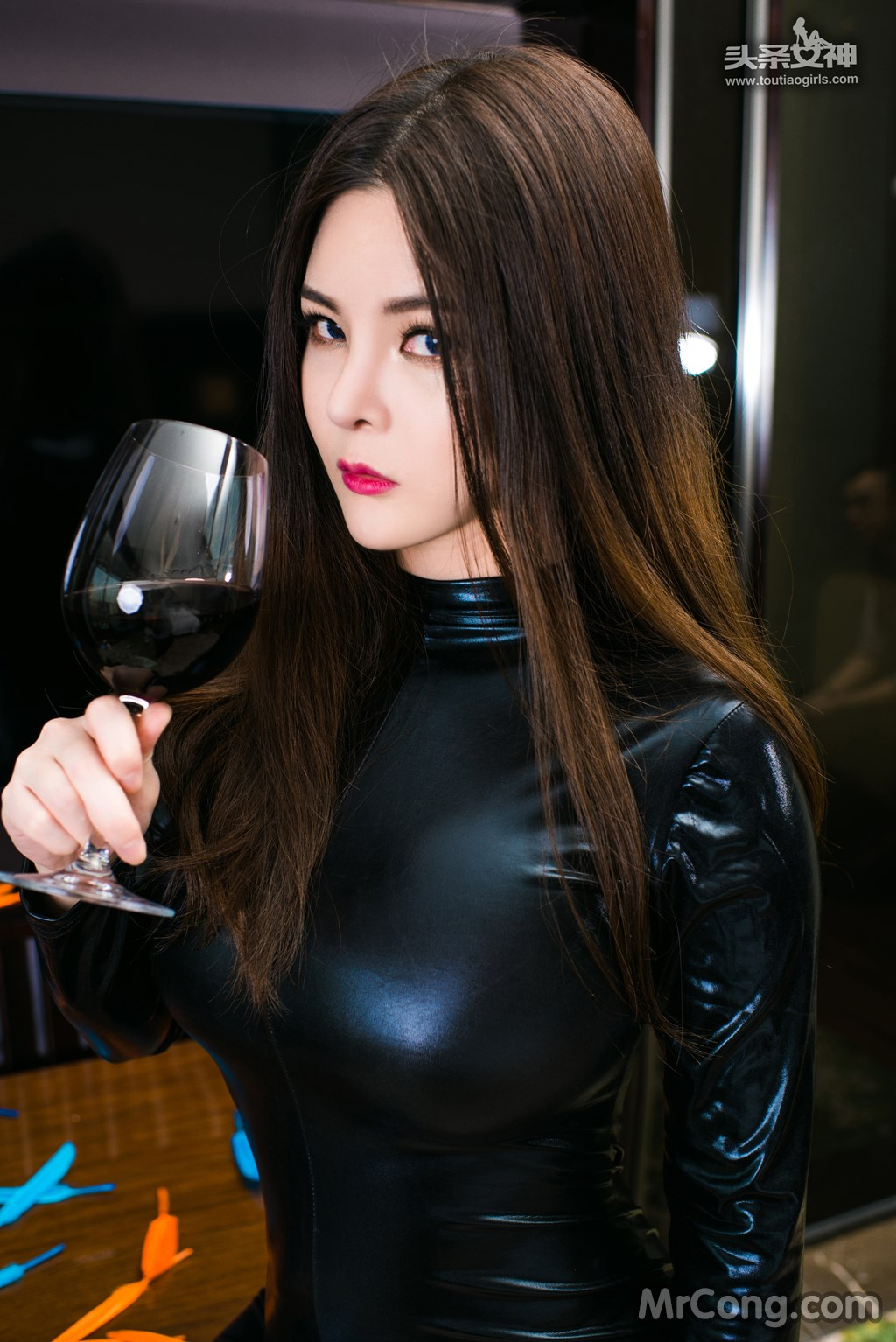 Image MrCong.com-TouTiao-2017-02-11-Tong-An-Qi-007 in post TouTiao 2017-02-11: Người mẫu Tong An Qi (童安琪) (27 ảnh)