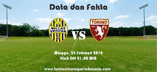 Data dan Fakta Liga Fantasia Serie A Hellas Verona vs Torino Fantasi Manager Indonesia