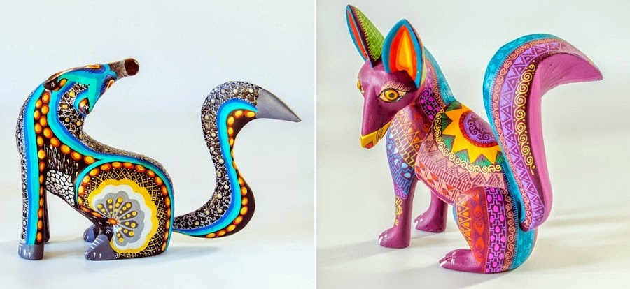 Simply Creative Mexican Folk Art Sculptures By Residents