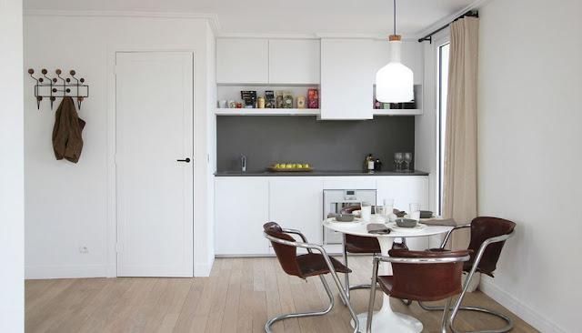 Desain Dapur Sederhana dan Rapi Untuk Rumah Kecil