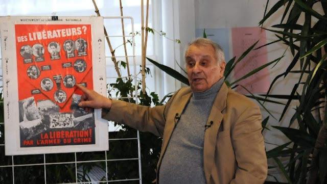 Muere Arsen Cakaryan héroe de la resistencia francesa