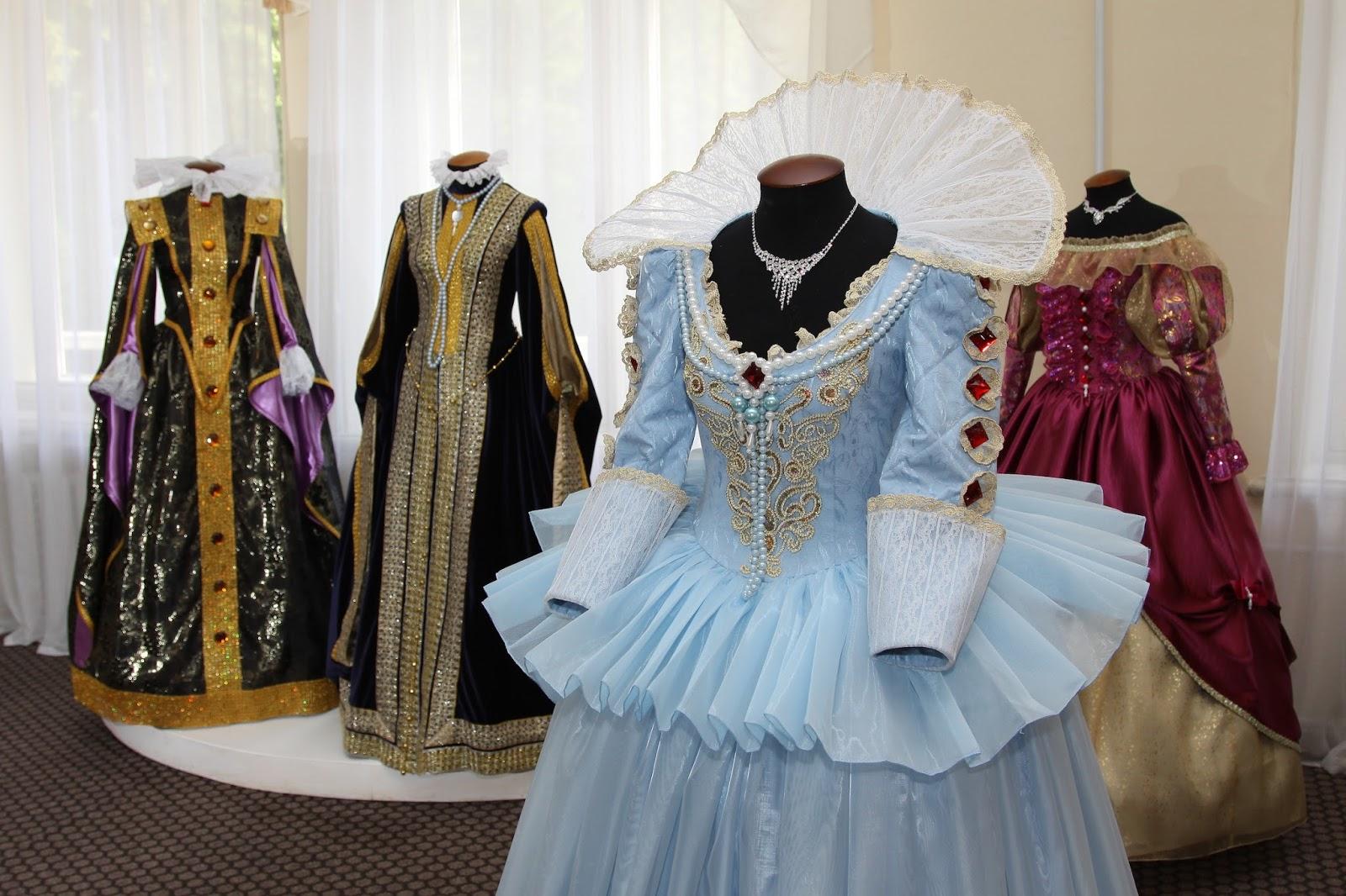 Каоллекция платьев от кутюрье Марии Новиковой