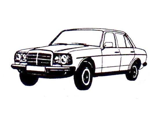 JesCarClassic: MERCEDES W123 1976-