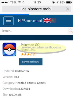 Cara Download Dan Install Pokémon Go Di iOS