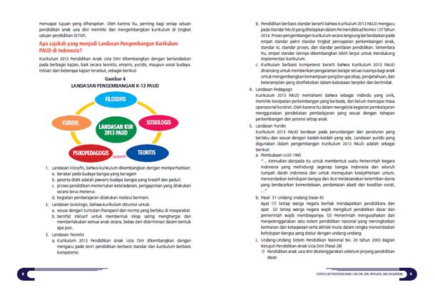 Kurikulum 2013 PAUD (Pendidikan Anak Usia Dini) Apa, Mengapa dan Bagaimana
