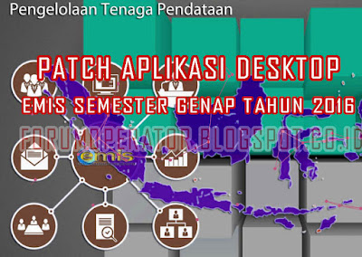 Download Patch Aplikasi EMIS Desktop Semester Genap Tahun 2016