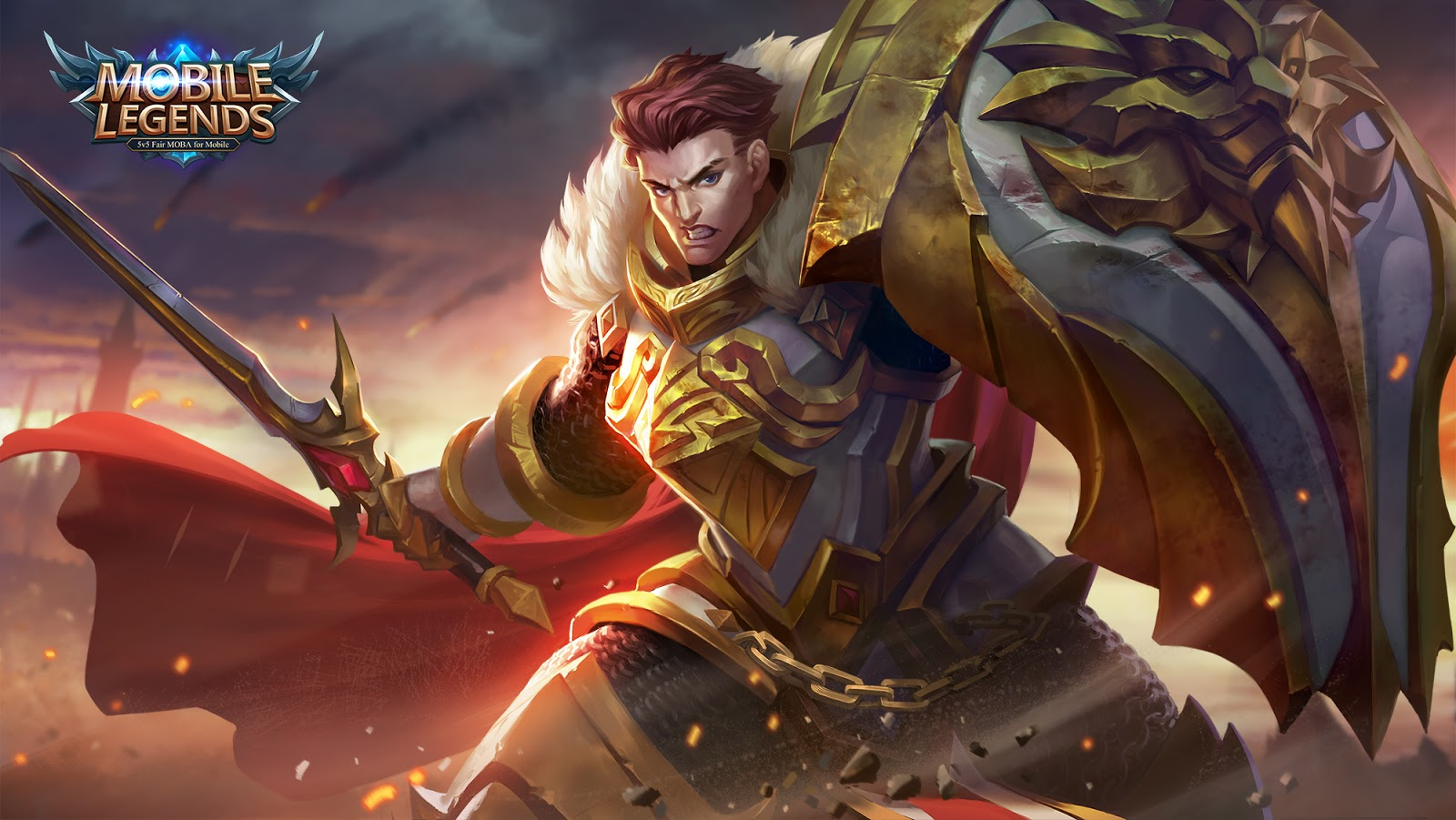 wallpaper Tigreal mobile legend hd