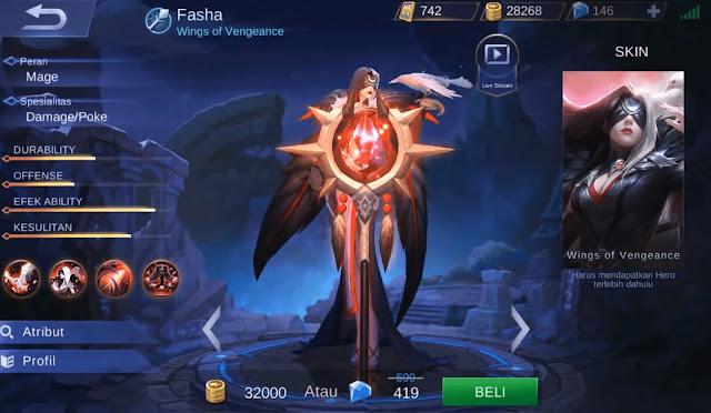 Tutorial, Tips, dan Cara Menggunakan Hero Fasha Mobile Legends