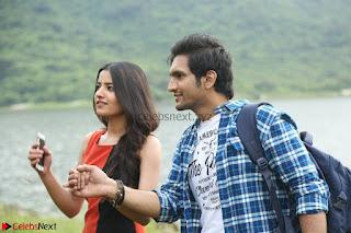 Rukshar Mir romancing Ashish Raj in Aakatayi 07.jpg