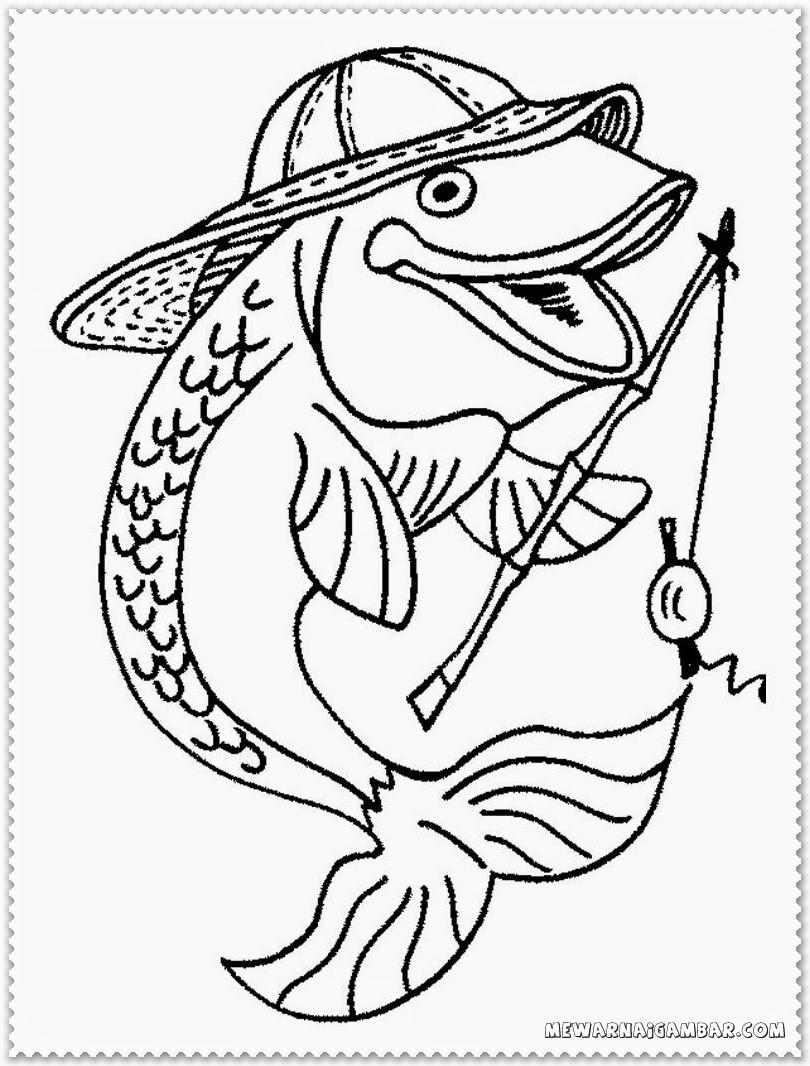 Angler Fish Coloring Pages