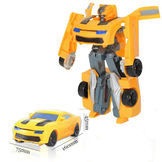 Super Robot Transformerable Vehicle Toys Car Changing Robot Model Bumblebee