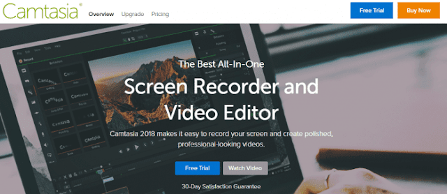 Camtasia Studio - 15+ Best Video Editing Software For YouTube