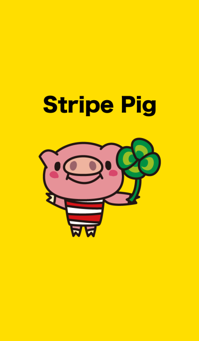 Pig of the good luck