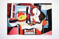Picasso'nun bir kompozisyon resmi