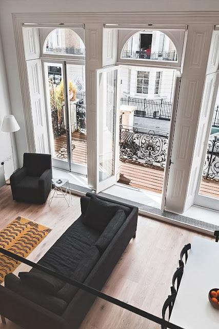 windows, big windows, duże okna, duże okno, okno na ścianę, przeszklenie, loft, styl industrialny, industrial, big space, interior, home decor
