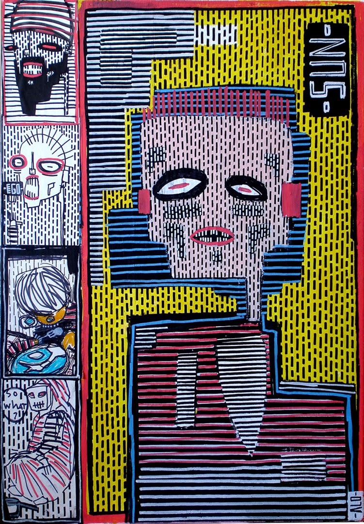 street art saatchi gallery alo shoreditch london paris