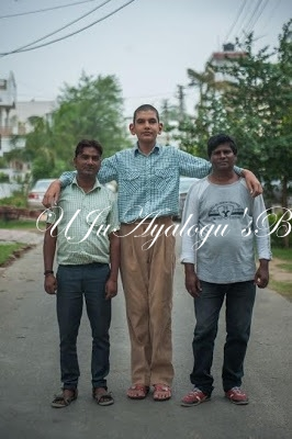 Meet The World's Tallest 8-Year-Old (Photos)