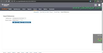Cara Import dan Export Referensi pada Mendeley Desktop dan EndNote