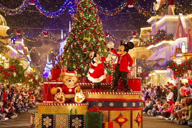 Parada Mickey's Very Merry Christmas Party em Orlando