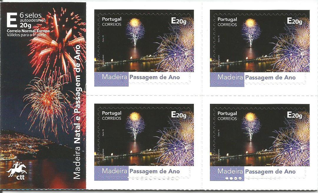 Resultado de imagem para selos ano novo portugal madeira