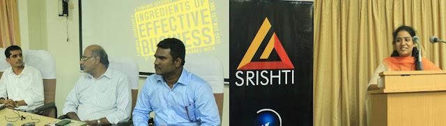 L to R: Jhon Arockiaswamy (GRI), Prime Point Srinivasan, Sakthi Prasanna (MSL Group).  Divya Ganesan (GRI) leading the discussion