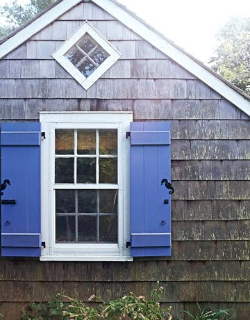 Decorative coastal window shutters for curb appeal coastal decor ideas and interior design for Hardware for exterior shutters