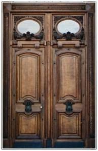 gambar pintu kupu tarung minimalis klasik