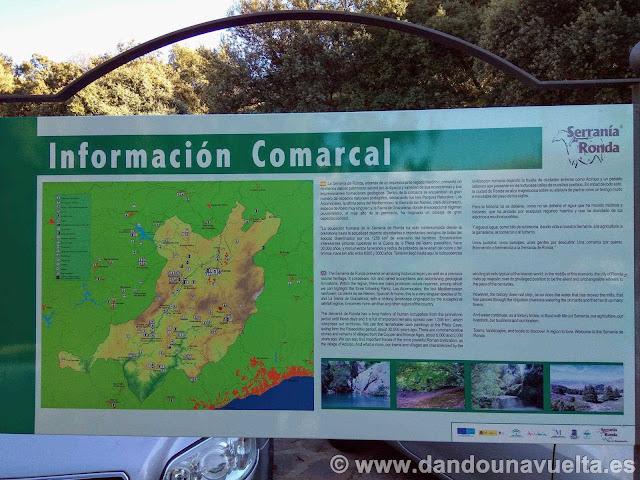 Información comarcal de la Serranía de Ronda
