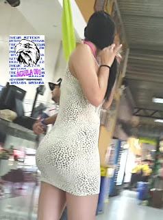 sexy mujer vestido entallado
