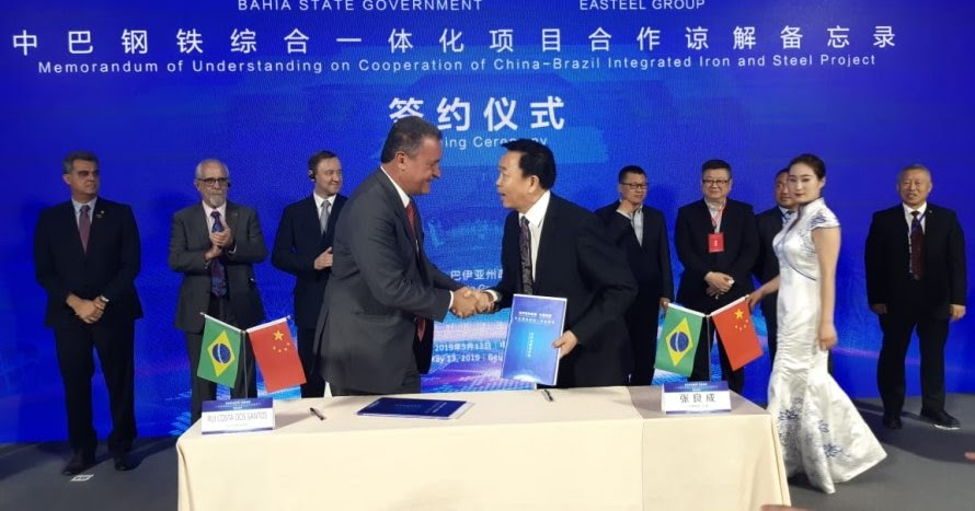 Resultado de imagem para Grupo chinês confirma a Rui investimento de R$ 1 bilhão em energia renovável na Bahia