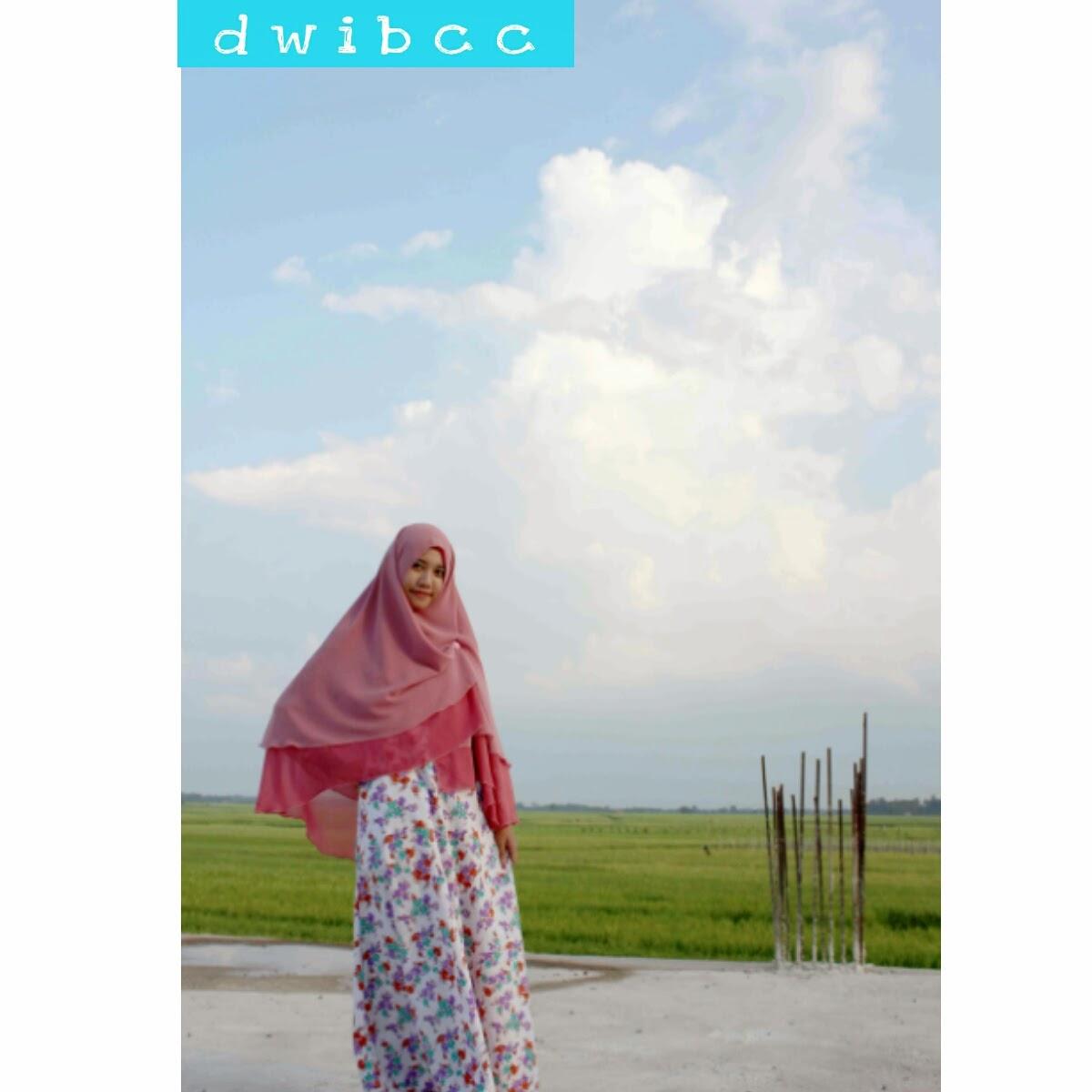 gamis dwi bcc hijab syar'i