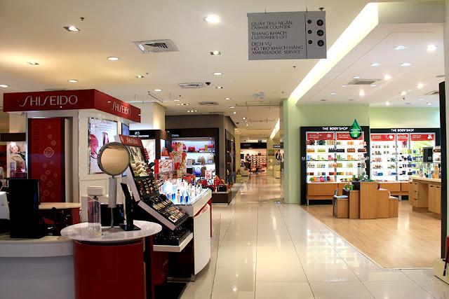 trung tâm thương mại dự án samsora premier 105