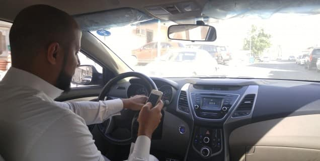 NEW SAHER CAMERAS RECORDS USING MOBILE PHONES WHILE DRIVING