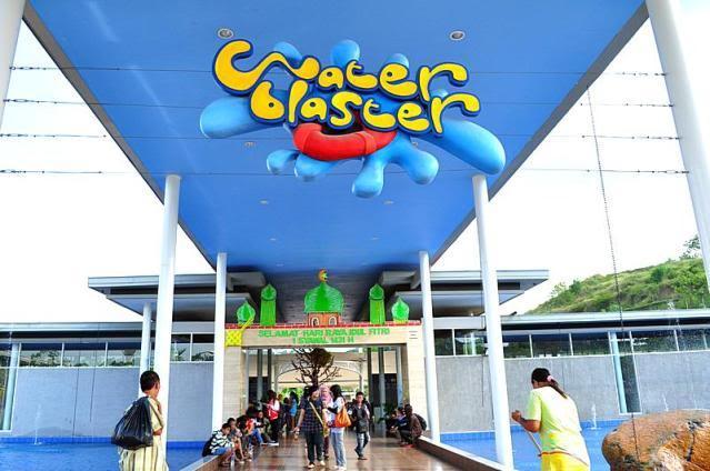 Wisata Water Blaster Bukit Candi Golf Semarang Wisata Water Blaster Bukit Candi Golf, Ada Wave Pool Juga Lho!