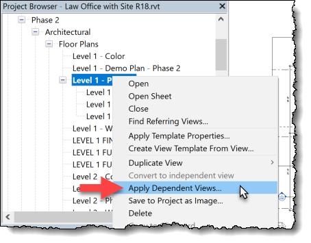 BIM Chapters: Duplicating Area Plans via Apply Dependent Views in Revit