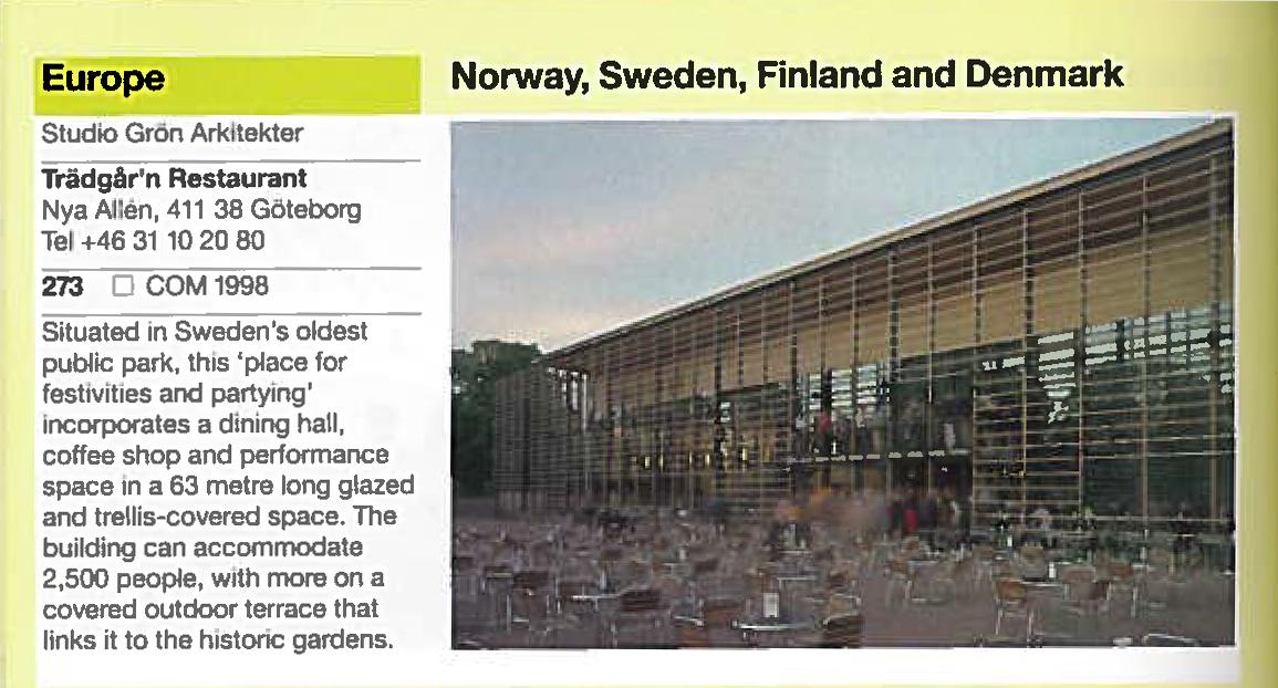 Phaidon Atlas Of Contemporary World Architecture Travel Edition
