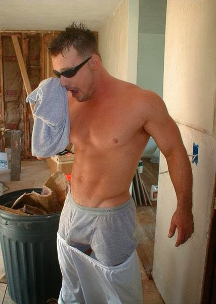 construction workers porn Male