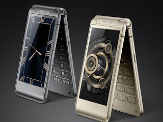 Samsung W2017 , samsung bendable foldable smartphone