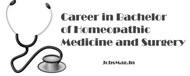 Career in BHMS