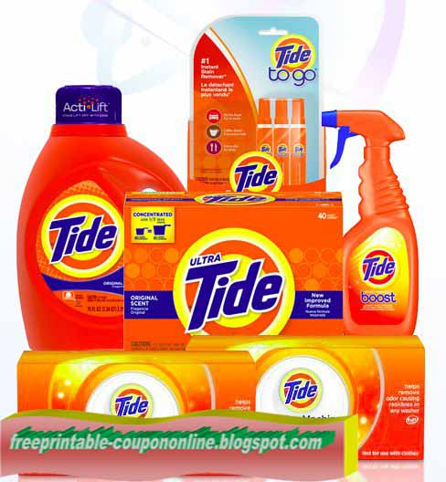 Printable Coupons 2017: Tide Coupons