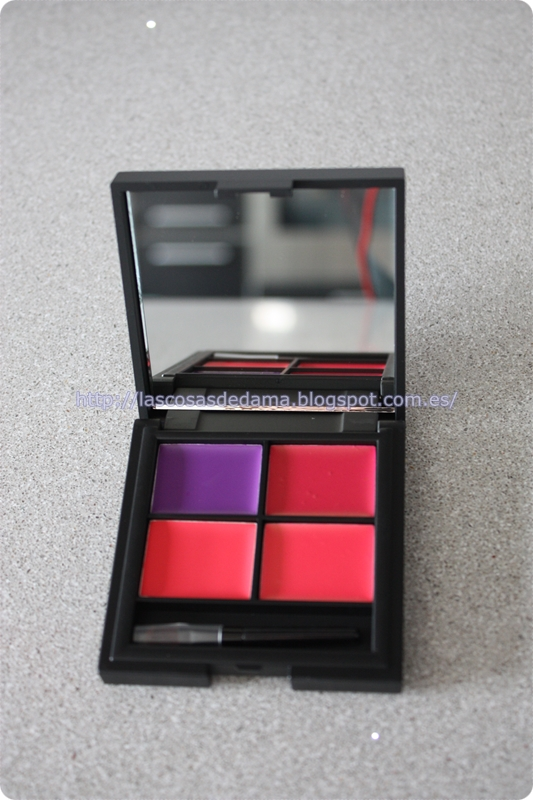 Paleta labiales Lip4 Mardi Gras Sleek maquillaje primor beauty belleza makeup