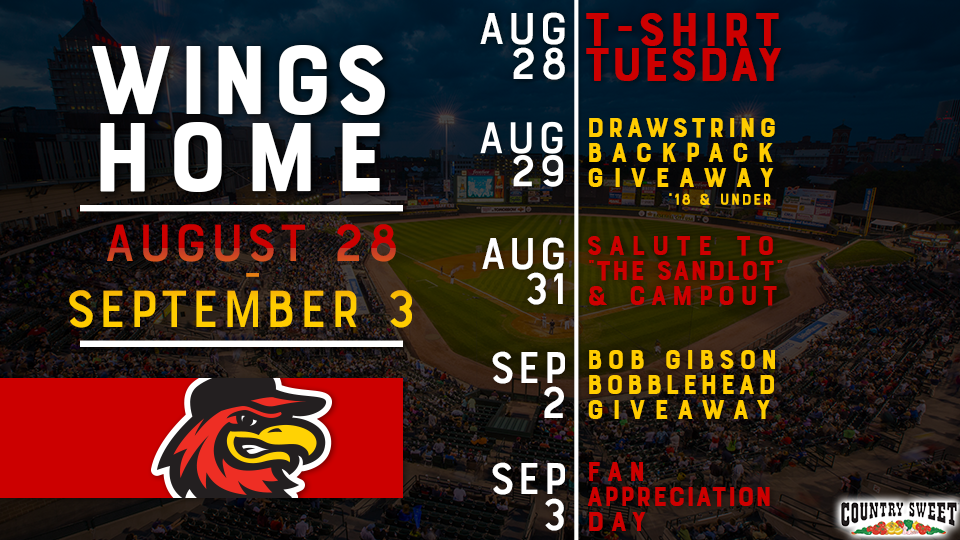 red wings final homestand of the season aug 28 sep 3 all wny