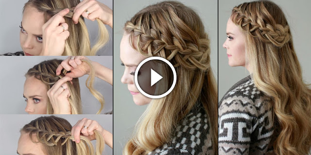 Learn – How To Create Loop Braid Hairstyle, See Tutorial