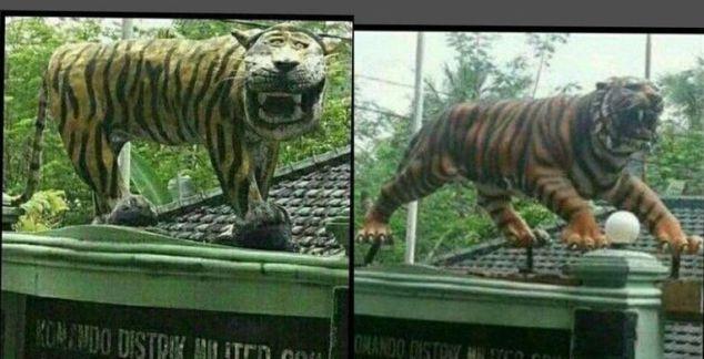 Gara-gara Patung Harimau Lucu, Patung di Seluruh Koramil Dievaluasi